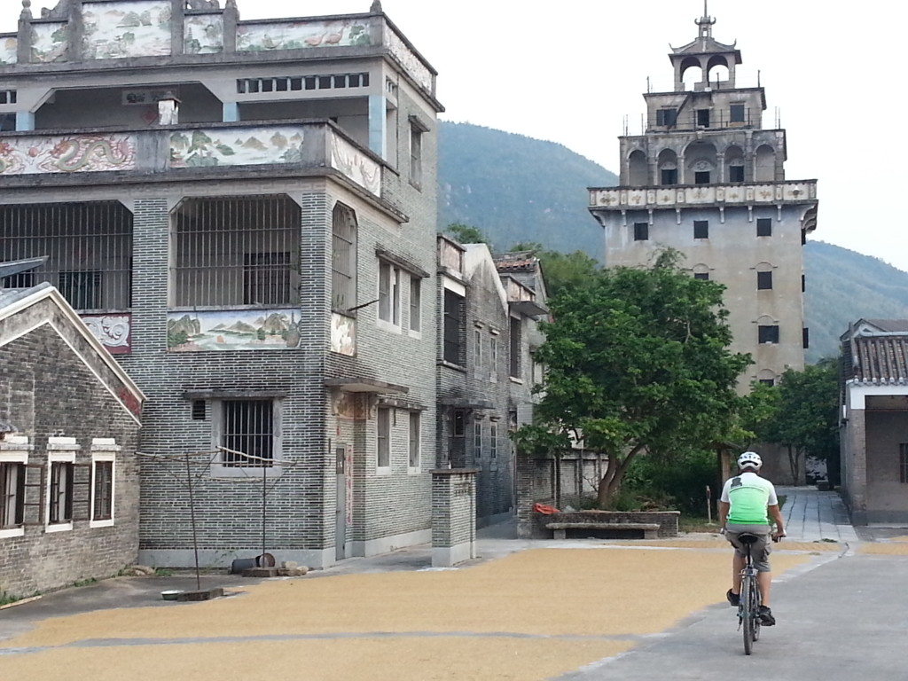 Cycling World heritage China Castle Houses