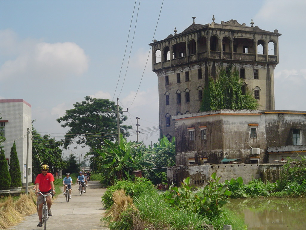 Cycling the Castle Houses of China