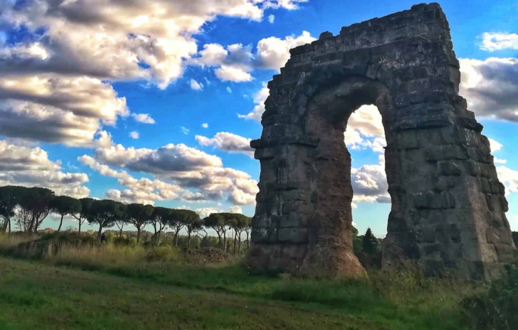 Roman Countryside Cycling and Arch