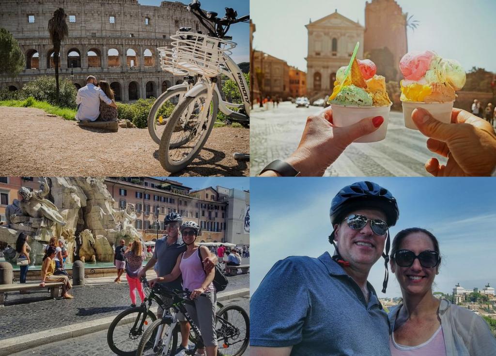 Bike and Eat like the Romans Ice Cream!