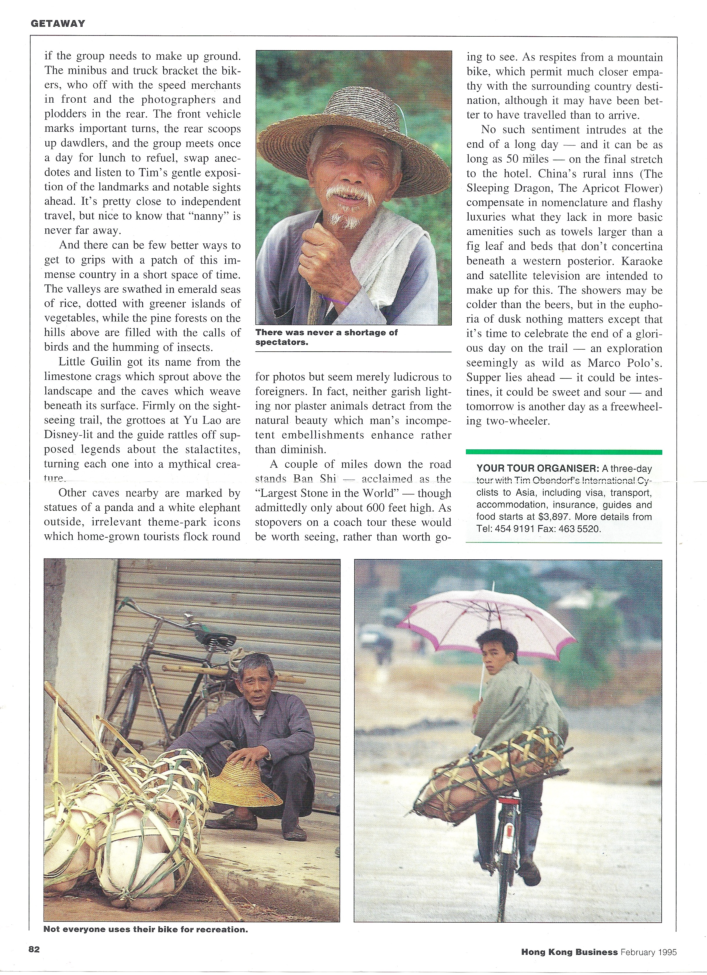 South China Cycling Article